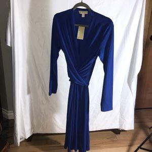 💙Michael Kors Long Sleeved Dress, Long Wrap Sash